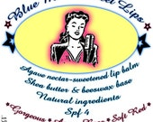 Blue Mama Sweet Lips Agave-Rose  Lip balm