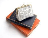 Bookish dictionary coin purse