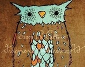 Owl - Signed Limited Edition Art Print