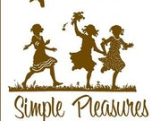 Printable Perpetual Date Calendar - Simple Pleasures
