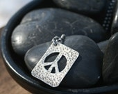 Peace Dog Tag