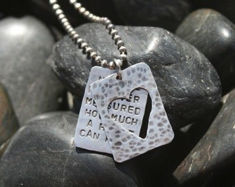 How Much Can The Heart Hold Window Necklace