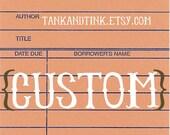 custom package for jen.
