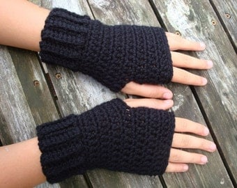 Fingerless Mittens...Wrist Warmers...Choose Your Color