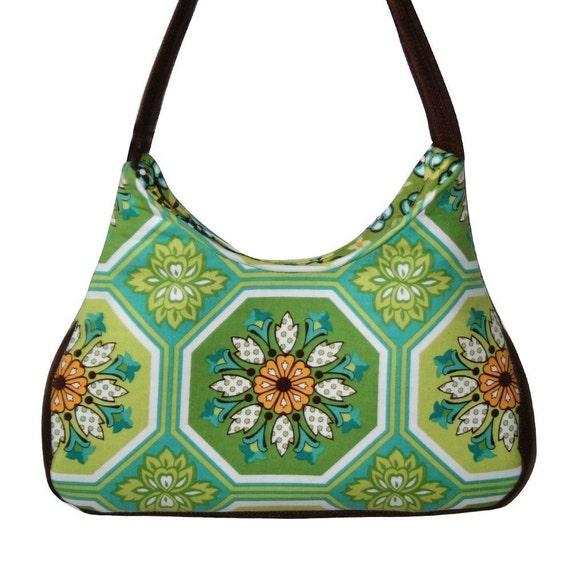 Moroccan Sea Blossom Hobo Bag