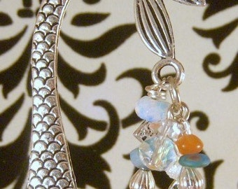 Holiday Gift for Someone Who Has Everything, Mothers,Grandmothers, Teachers Customized Mermaid of the Sea Bookmark