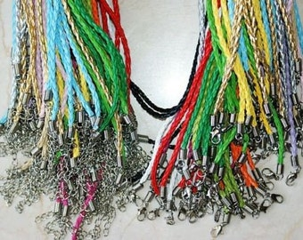 Braided Leather Necklace Wholesale (1)  Perfect Gift for Everyone