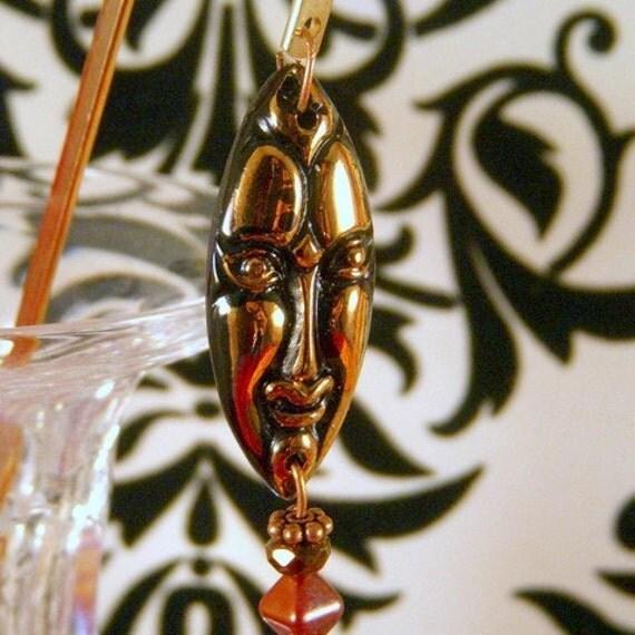 OOAK Gift Jungle Mask Bookmark
