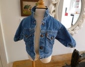 levi's jean jacket- size 12 months