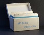 vintage bride's register