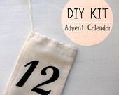 DIY Advent Calendar Kit - 12 Medium Bags