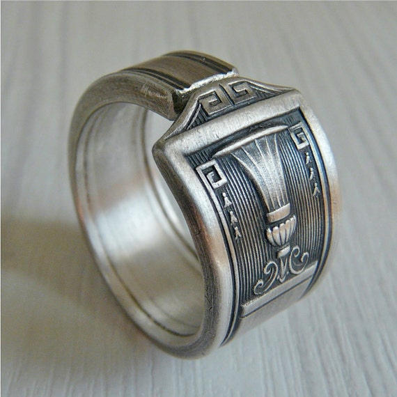 Spoon Ring, Antique Silver Pattern: Century, Last One Left
