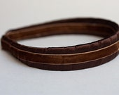 Elegant Headband - Chocolate Brown