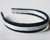 Little Glitzy Black Headband