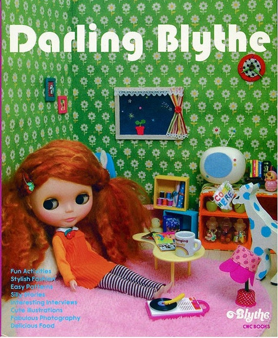 Darling Blythe Book with Patterns