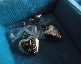 Romantic Vintage Locket earrings