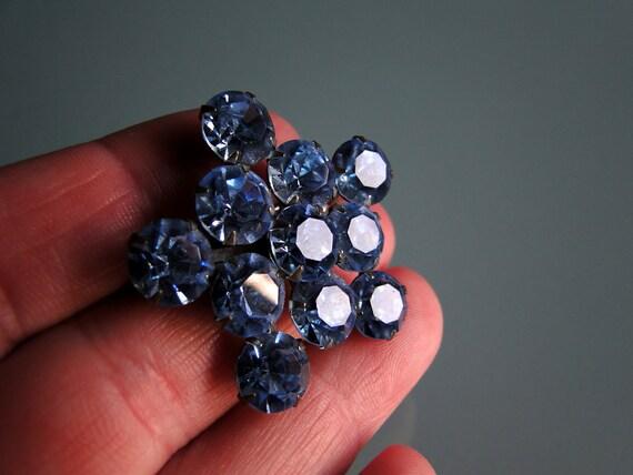 Blue Star Brooch