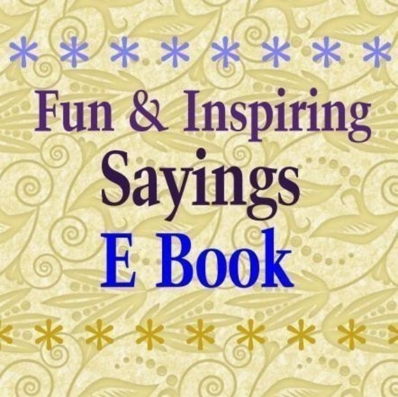 Fun Inspiring All Holidays Sayings Quotes Phrases E Book - 4500 words halloween christmas easter pdf digital uprint craft scrapbooking