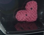Wool Knitted Heart