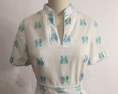 Vintage 1960's Butterfly Dress XL SALE