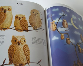 Doughcrafts Book with Owl and Turtle Ornaments