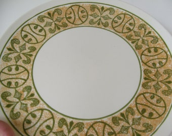 Large Round Seventies Serving Platter