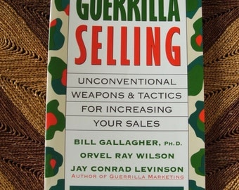1992 Guerrilla Selling Book