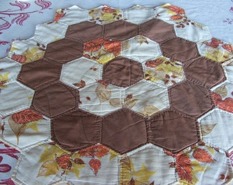 Vintage Table Patchwork Quilt
