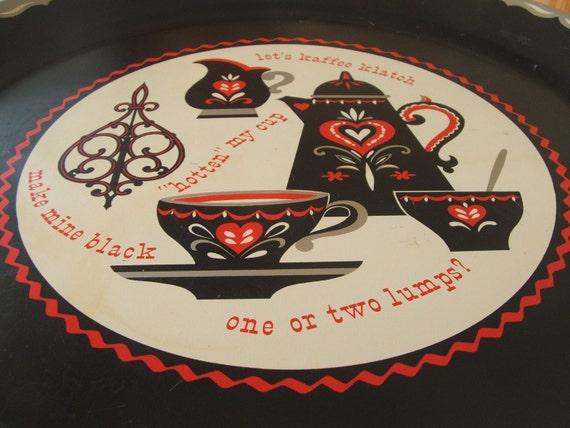 Kaffee Klatch Tray