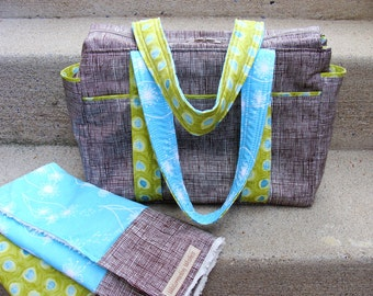 Ultimate Diaper Bag II with Changing Pad --- Custom Made to Order