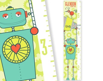 Personalized Growth Chart Growbots