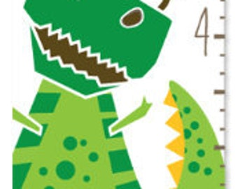 Growth Chart Dinosaurs