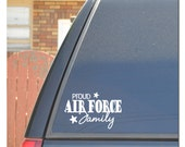 Air Force Family Car Decal