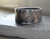 Mans Rustic Ring