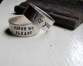 Promise Ring of Sterling Silver