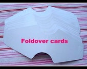 Glossy Foldover Cards Bundle of 50