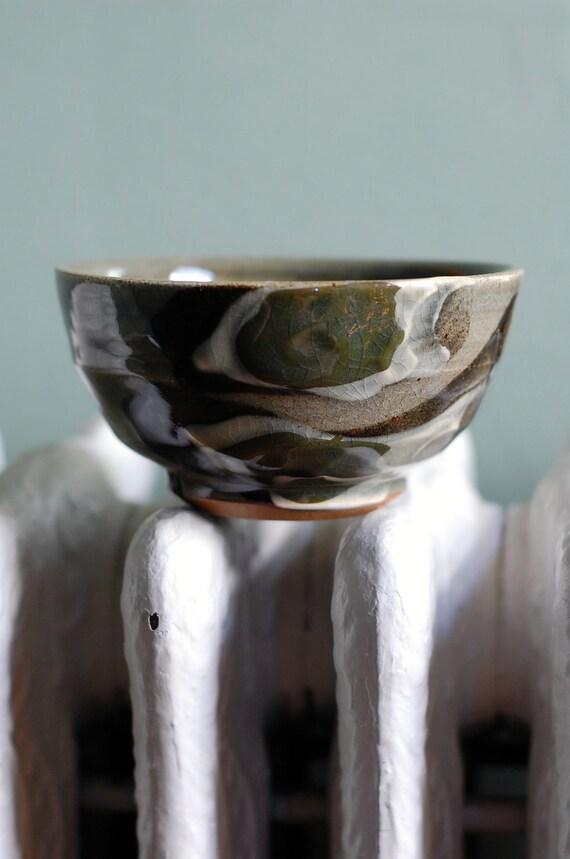 rugged stoneware bowl