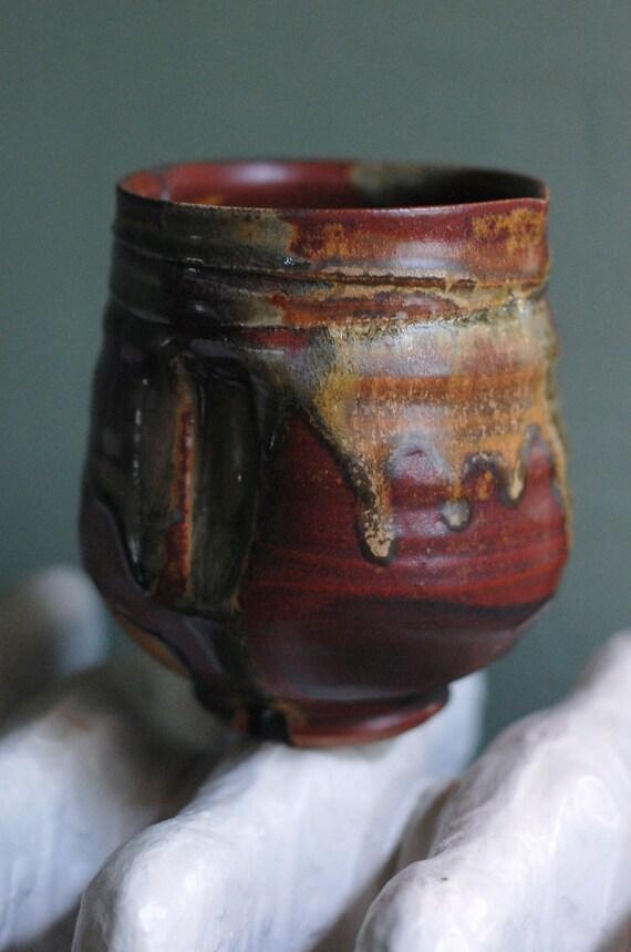 tall stoneware chawan
