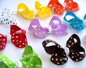 45% OFF SALE Pick Two- 2.5 Inch Polka Dot Hair Boutique Bows