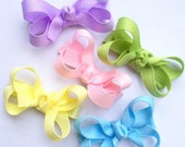 45% OFF SALE Spring Fever Boutique Non-Slip Small Boutique Hair Bows - Starter Set of 5