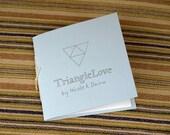 TRIANGLELOVE (little hand-sewn ART BOOK)