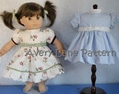 Lily Bubble Dress and Top Boutique doll Pattern  Avery Lane Designs 15 inch size doll  PDF Pattern email delivery