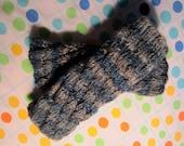 Hand-knitted Wrist Warmers / Fingerless Gloves