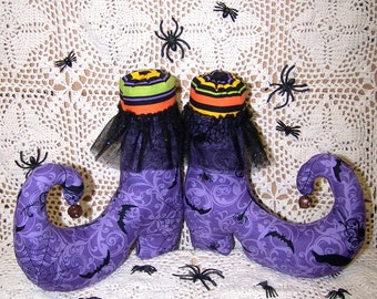New Item  Primitive  The Witch Is In Boots  Pattern ET