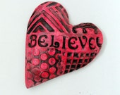 Believe Affirmation Heart