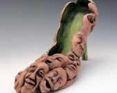 Shoes Ceramic Sculpture Souls of My Shoe  Made to order allow 3-5 weeks lead time