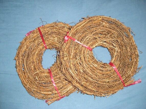 60 Feet Natural Grapevine Garland, Vine Garland, 4 Rolls