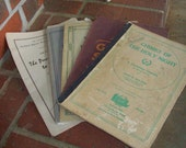 Vintage Music Books Hymn Paper Ephermera Supplies Altered Art Project Sheet Music Collection Farmhouse French Country Chic Shabby