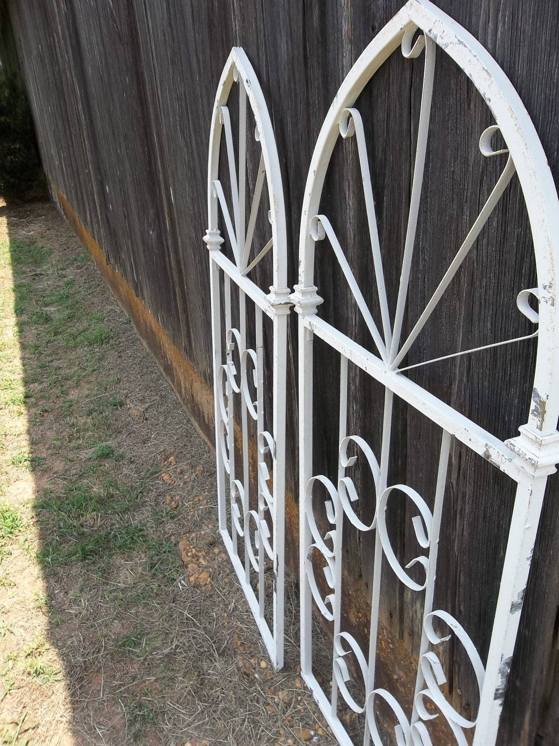 Reserved Vintage Wrought Iron Gate Wedding Decor By Misshettie