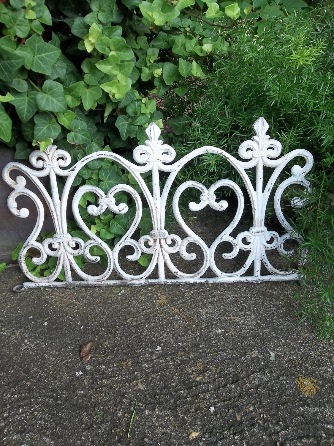Vintage Architectural Salvage Cast Iron Cottage Chic By